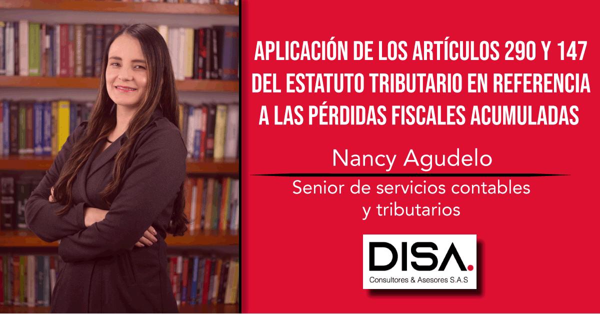 Aplicación de los artículos 290 y 147 del Estatuto Tributario en referencia a las pérdidas fiscales acumuladas.